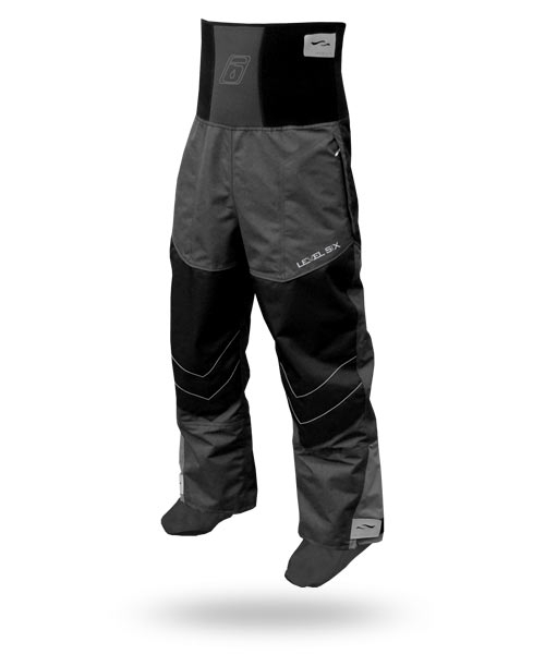 Level Six Reign 3 Ply Semi-dry pant with 3 ply attached socks